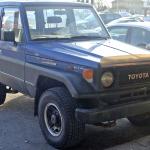 トヨタランドクルーザー70系