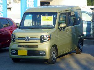 Honda_N-VAN_+STYLE_FUN_Honda_SENSING_(HBD-JJ1)_front